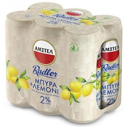 Μπύρα Κουτί Amstel Radler (6x330 ml)
