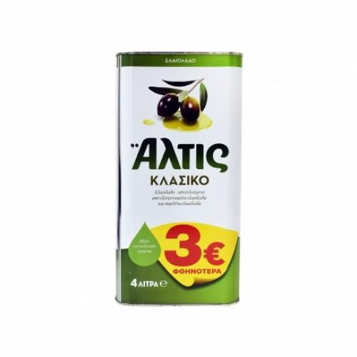 Κλασικό Ελαιόλαδο Άλτις (4 lt) -3€