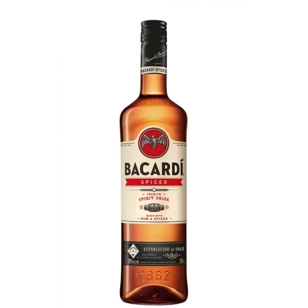Bacardi Spiced Rum (1lt)