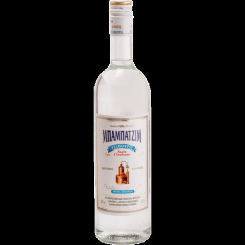 Τσίπουρο Χωρίς Γλυκάνισο Μπαμπατζίμ (200 ml)