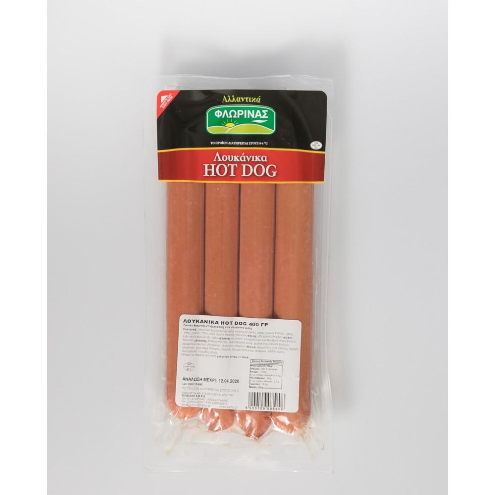 Λουκάνικα Hot Dog