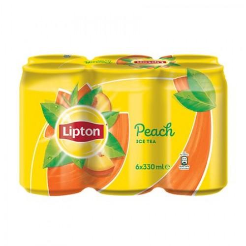Ice Tea Ροδάκινο Lipton (6x330 ml)