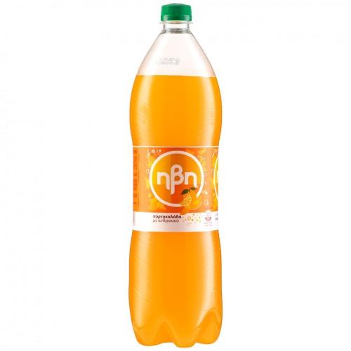 Ήβη Αναψυκτικό Πορτοκαλάδα Με Ανθρακικό 1,5lt